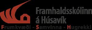 Logo of Kennsluvefur Framhaldsskólans á Húsavík.